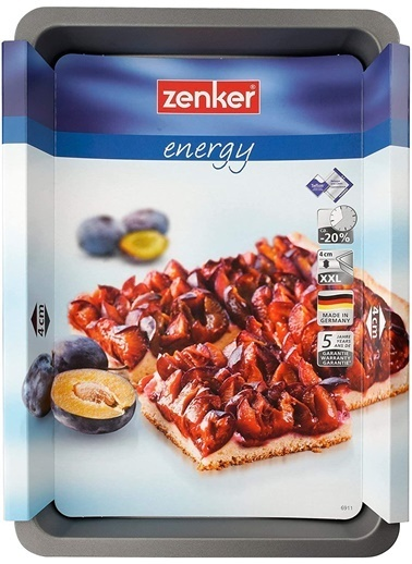 Zenker Zenker 6911 Energy Teflon Kaplama Fırın Tepsisi 42x29 Renkli